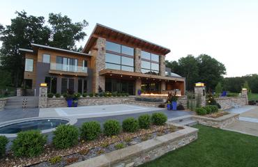 Michigan Lake Front Home